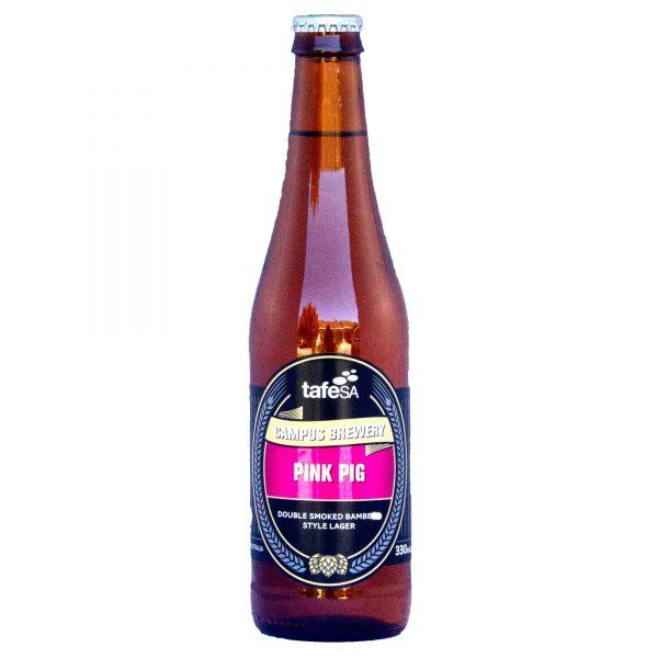 Bottle Image Pink Pig