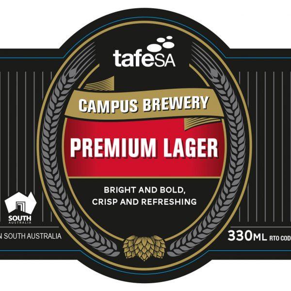 Label Image Premium Lager