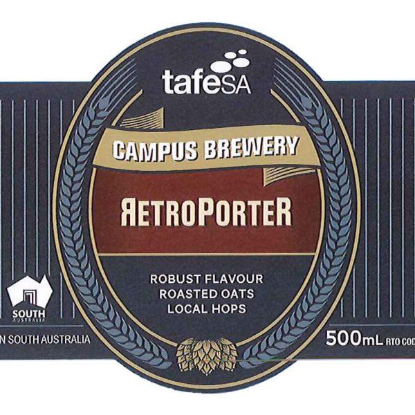 Label Image Retro Porter